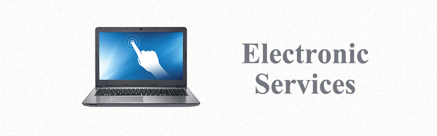 middle page banner- electronic services