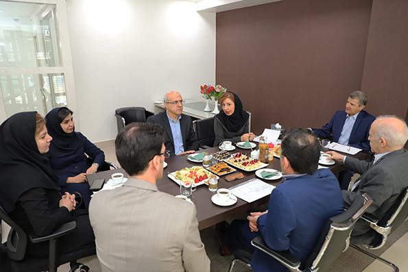 پایگاه خبری آرمان اقتصادی 11610_orig بازدید مدیرعامل بانک کارآفرین از شعب دکتر فاطمی، ملاصدرا و نفت شمالی