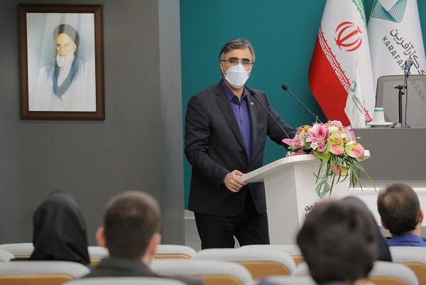 سخنرانی دکتر فرزین در مراسم افتتاح پایگاه خبری