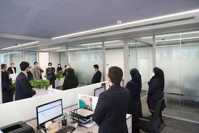 افتتاحیه ساختمان تابان